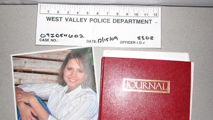 FILE - This evidence photo released Monday, May 20, 2013, by the West Valley City Police Department shows a journal collected from Josh and Susan Powell's house. Police released the case file, which includes details that have been kept under wraps since Powell vanished in 2009. (AP Photo/West Valley City Police Department, File)