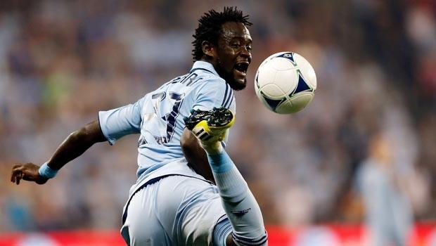 "Peter Vermes says Sporting KC are the ""fortunate ones"" in welcoming back Kei Kamara to the team"