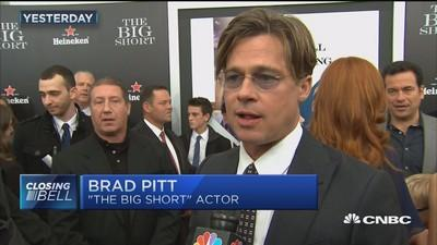 Brad Pitt: 'Greed is good' mentality needs to be looked a...