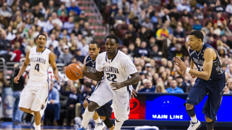 NCAA Basketball: Georgetown at Villanova