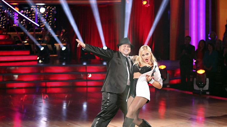"Lacey Schwimmer and Chaz Bono perform on ""Dancing With the Stars."