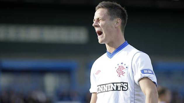 Ross Perry believes Rangers have hit form at the right time