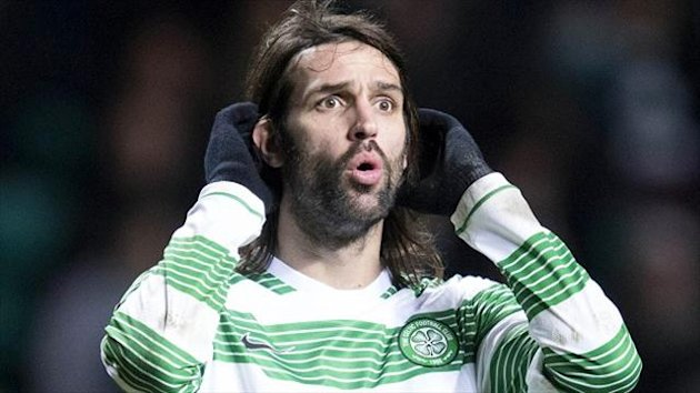 Neil Lennon fears Georgios Samaras, pictured, and Joe Ledley may leave the club