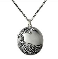 rose fragrance locket