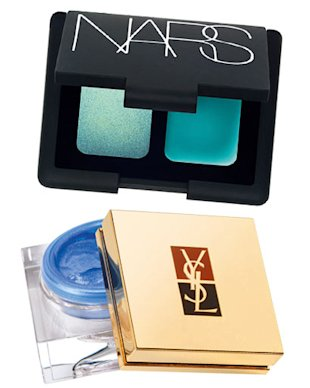 Nars and YSL cream eyeshadow