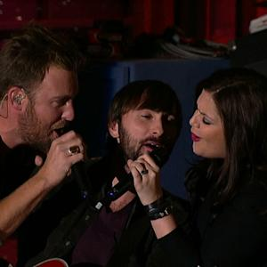 Live on Letterman - Lady Antebellum