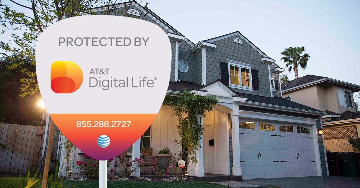 Move into an AT&T protected home