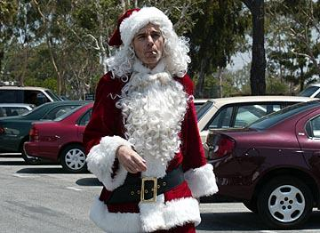 Billy Bob Thornton in Miramax's Bad Santa