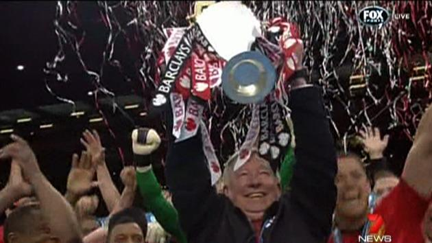 Sir Alex Ferguson honoured with win