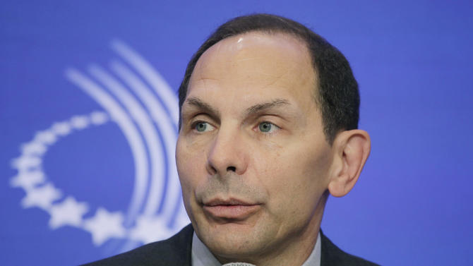 Obama lauds former CEO as right choice to fix VA