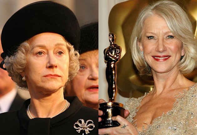 Helen Mirren, Best Actress of 2006, 'The Queen'