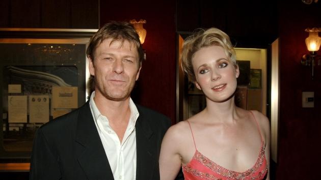 Sean Bean and Georgina Sutcliffe during 'The Island' New York City Premiere - Inside Arrivals at Ziegfeld Theater in New York City on July 11, 2005 -- WireImage