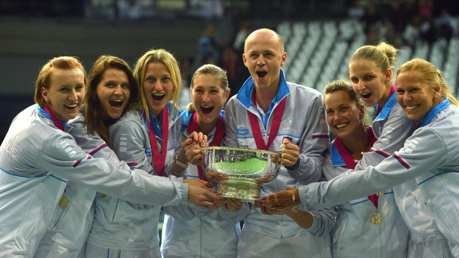 Czech Republic eye third successive Fed Cup title