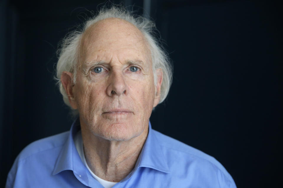 FILE - In this May 24, 2013 file photo, actor Bruce Dern poses for a photograph following an interview with The Associated Press at the 66th international film festival, in Cannes, southern France. (Photo by Todd Williamson/Invision/AP, File)