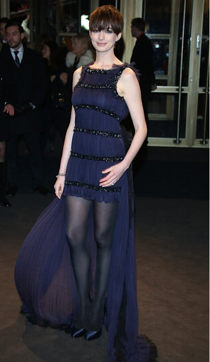 Berlinale 2013: Anne Hathaway sul red carpet di Les Miserables