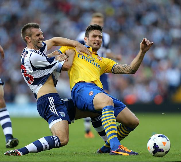 Soccer - Barclays Premier League - West Bromwich Albion v Arsenal - The Hawthorns