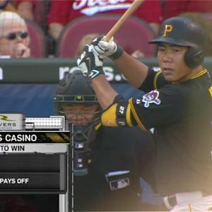 Kang's RBI ground-rule double