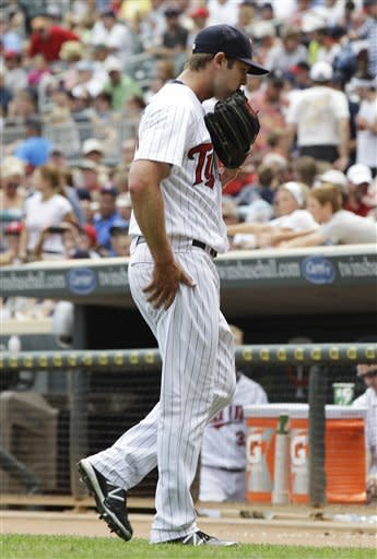 Beavan pitches Mariners past Twins 5-4