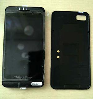 RIM's first BlackBerry 10 smartphone pictured in leaked photos