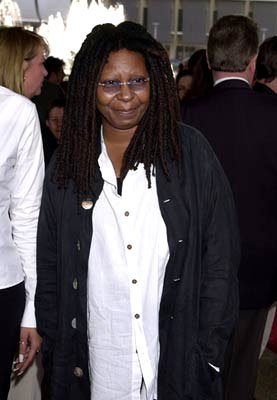 Premiere: Whoopi Goldberg at the Century City premiere of Paramount's Rat Race - 7/30/2001