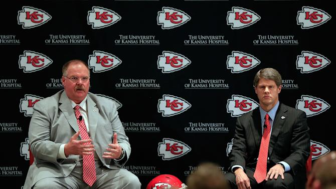 Kansas City Chiefs Introduce Andy Reid