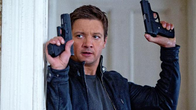 """This film image released by Universal Pictures shows Jeremy Renner as Aaron Cross in a scene from """"The Bourne Legacy."""" (AP Photo/Universal Pictures, Mary Cybulski)"""