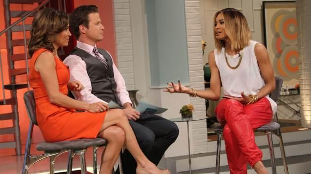 Ciara stops by Access Hollywood Live on June 25, 201 -- Access Hollywood