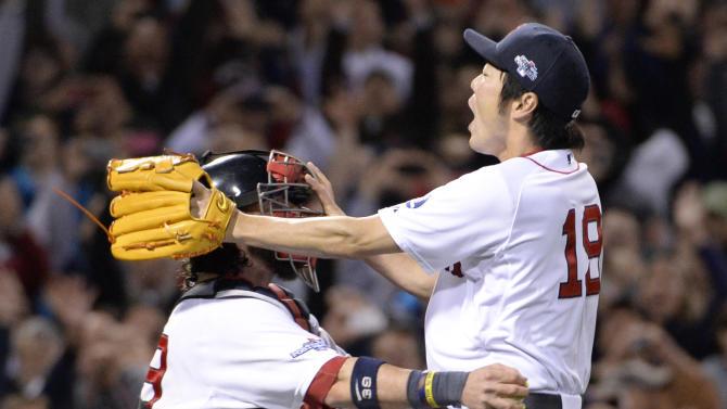 MLB: ALCS-Detroit Tigers at Boston Red Sox