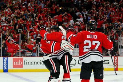 NHL Live Wire: Blackhawks win Game 4 in dramatic fashion