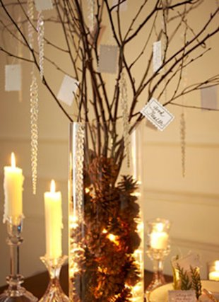 Candle and Tree
