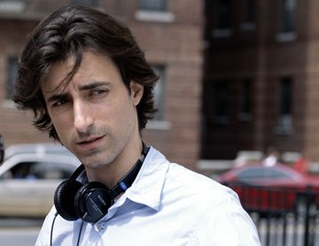 Director Noah Baumbach on the set of Samuel Goldwyn Films' The Squid and the Whale
