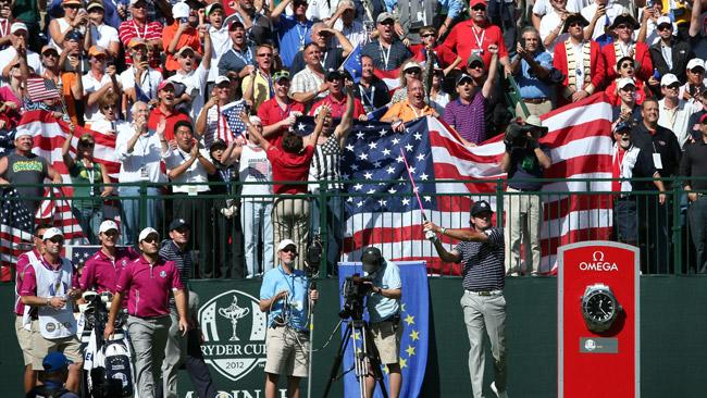 Notebook: No silent treatment at Ryder Cup