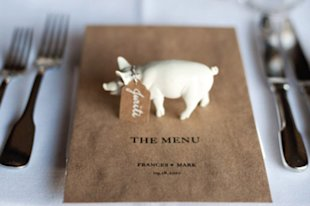 Piggy Placecards