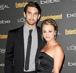 Kaley Cuoco Takes Husband Ryan Sweeting's Last Name, Reveals Groom's Cake: Picture