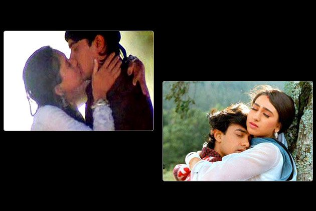Top 10 onscreen kisses