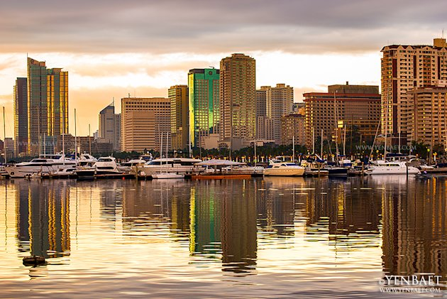 philippines-manila-roxas-boulevard-skyline-1-jpg_064740 - Manila at twilight - Philippine Photo Gallery