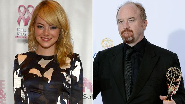 Emma Stone, Louis C.K. Debut on 'Forbes' List