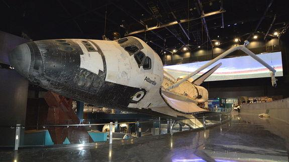 Space Shuttle Atlantis Exhibit Enters Final Countdown to Launch