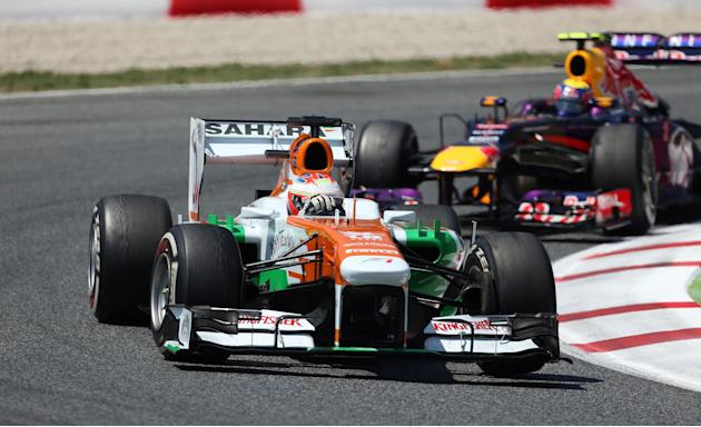 Auto - Formula One Motor Racing - Spanish Grand Prix - Race Day - Circuit de Catalunya