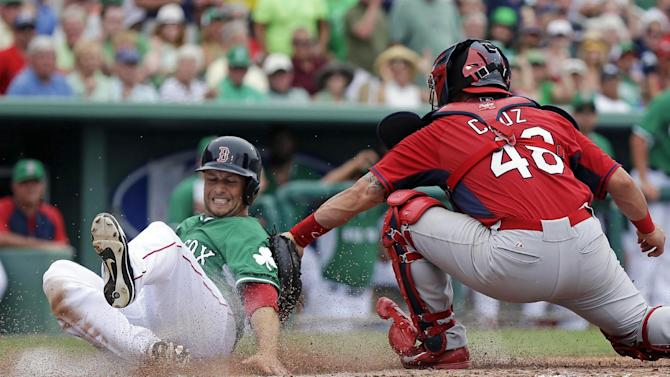 Sizemore 3 hits, 3 runs; Red Sox beat Cards 10-5