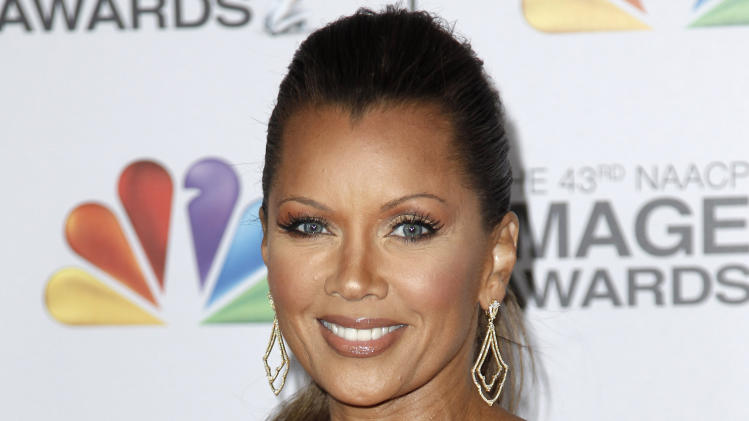 FILE - This Feb. 17, 2012 file photo shows actress-singer Vanessa Williams arriving at the 43rd NAACP Image Awards in Los Angeles. On Friday, July 6, Williams will talk about her relationship with her mom, Helen, during one of a series of panel discussions at the Ernest N. Morial Convention Center about family, love and relationships during the Essence Music Festival running through Sunday in New Orleans. (AP Photo/Matt Sayles, file)