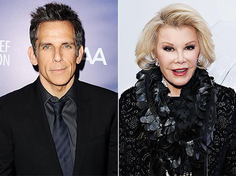 "Ben Stiller: Joan Rivers and I Never Made Amends Before Her Death, ""She Didn't Like Me"""