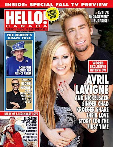 Avril Lavigne's 14-Carat Engagement Ring Worth an Estimated $350,000!
