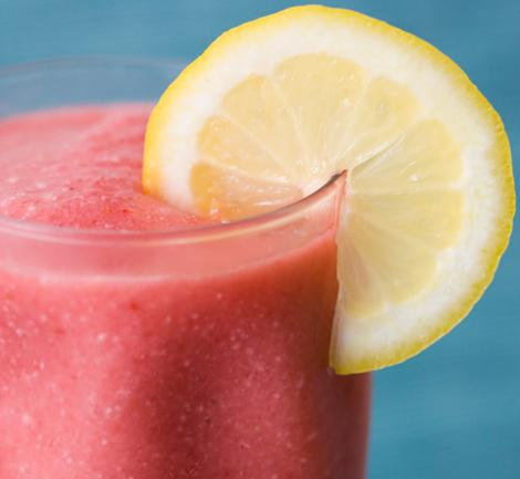 Pink Lemonade Strawberry Smoothie