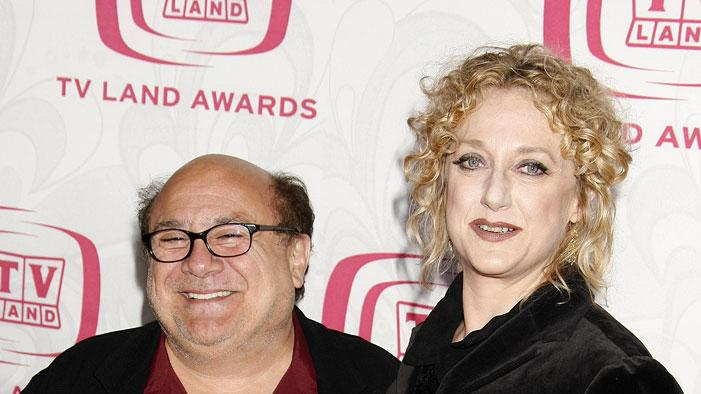 Danny DeVito and Carol Kane at the 5th Annual TV Land Awards.