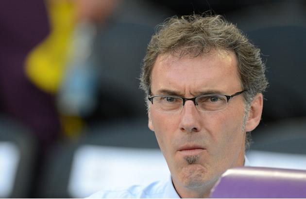 French Headcoach Laurent Blanc Looks AFP/Getty Images