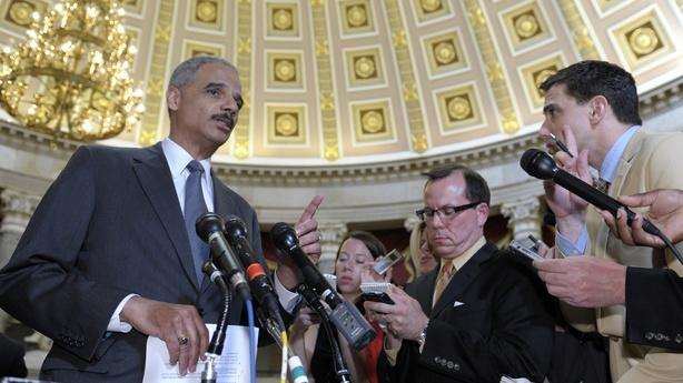 House Oversight Committee Holds Eric Holder in Contempt