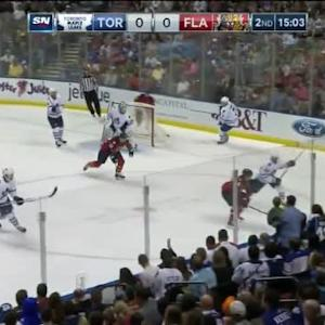 James Reimer Save on Brian Campbell (04:57/2nd)