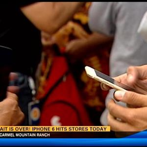 The wait is over! iPhone 6 hits stores today