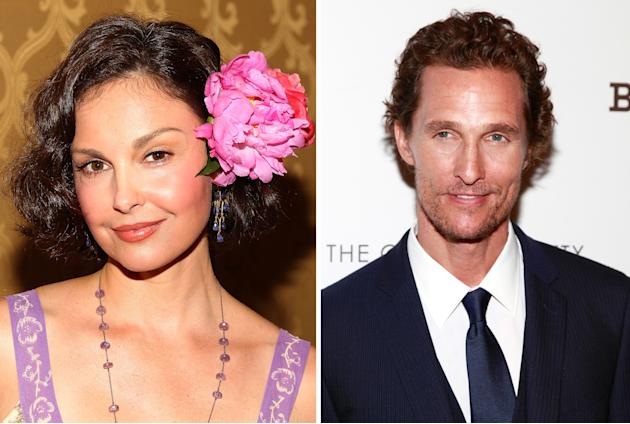 Ashley Judd and Matthew McConaughey